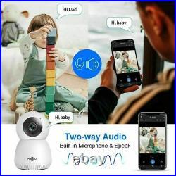 Camera IP Security Hiseeu 1080P 2MP Home WIFI Two Way Audio Wireless Camera