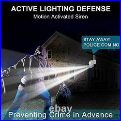 Color Night Floodlight Outdoor WiFi Security Camera GENBOLT AI Home Security