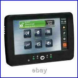DSC HS2TCHPBLK PowerSeries NEO Black 7 Hardwired Touch Screen Keypad