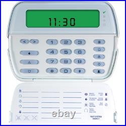DSC PK5501 PowerSeries 64-Zone LCD Picture Icon Keypad