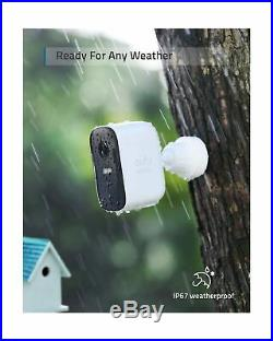 Eufy 2 Cam Wireless Home Security System Night Vision 1080P HD IP67 T8831 New