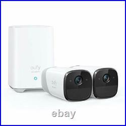 Eufy Security eufyCam 2 Wireless Home Security Camera System, (2-Cam-Kit)
