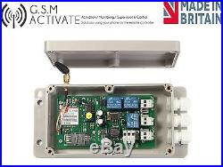 Gsm Auto-marcador Dsc Honeywell Adt Ge 2gig Visonic Compatible