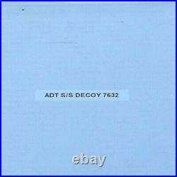 Genuine ADT Mirror Polished Stainless Steel Decoy Alarm Bell Box Ref 7632
