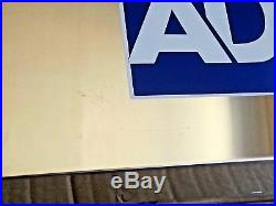 Genuine ADT Polished Stainless Steel LIVE Alarm Flashing Siren Bell Box Ref G3S2