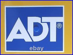 Genuine ADT Twin LED Flashing Decoy Dummy Alarm Box Cover + Bracket REF DCF6