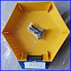 Genuine ADT Twin LED Flashing Decoy Dummy Alarm Box Cover + Bracket REF DCF7