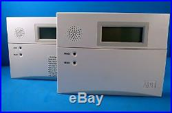 Honeywell 6160 Custom Alpha Keypad Adt Hybrid Lot Of (2)