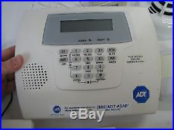 HONEYWELL ADT Home/Office SECURITY SYSTEM LOT Lynx Plus SMOKE/MOTION/KEYPADS/FOB