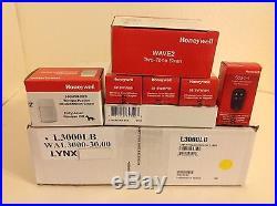 Honeywell Lynx Quickconnect Plus Security Alarm Kit Adt Logo & External Siren