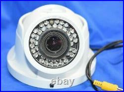 Home Security ATV CTRT7212W 750TVL Outdoor IR Turret Dome Camera, COLOR Sony ADT