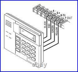 Honeywell / Ademco 6150RF Fixed Language Keypad/Transceiver (BRAND NEW & SEALED)
