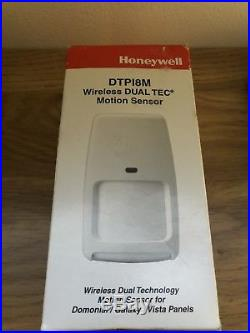 Honeywell Wireless DUAL TEC 15m x 18m Pet Immune Motion Sensor DTPI8M ADT