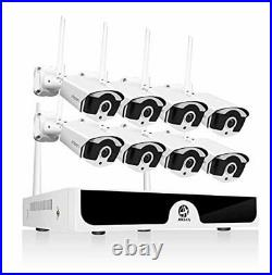 JOOAN 1080P Wireless Security Camera System, JOOAN 8×2MP Full HD Home Surveillan