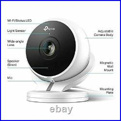 Kasa Smart (KC200) Outdoor Camera by TP-Link, 1080p HD Smart Home Security Camer