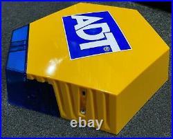 LATEST NEW STYLE ELMDENE ADT Dummy alarm box solar TWIN LEDs + Battery + Sticker