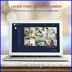 LaView Security Cameras 4pc, Home Security Camera Indoor 1080P, WiFi Cameras for B