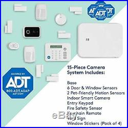LifeShield, an ADT Company 15-Piece Easy, DIY Smart Home Security System Opt