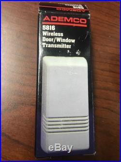 Lot of 8 ADEMCO/ADT/HONEYWELL 5816 Wireless Door/Window Transmitter