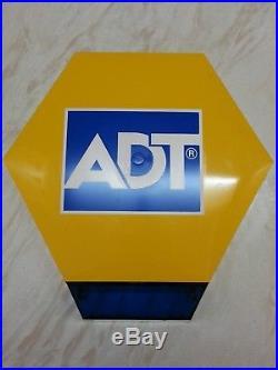 NEW ADT Solar LED Flashing Alarm Bell Box Dummy Kit. + Bracket And Battery DCF1