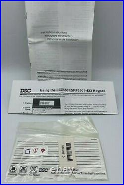 NEW RARE DSC Power Series LCD5501Z Fixed Message Alarm System Keypad NEW IN BOX