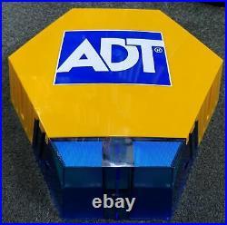 NEW STYLE ADT Grade 3 Twin LED Live Alarm Siren Sounder Bell Box 7422 SFG G3F /