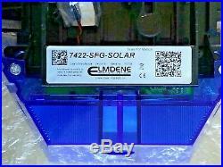 NEW STYLE ADT Solar LED Flashing Alarm Bell Box Decoy Dummy Kit + Battery Ref1b