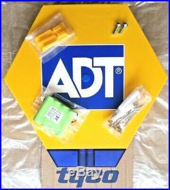 NEW STYLE ADT TWIN LED Flashing Solar Decoy Bell Box Dummy Kit + Battery (SFG-3)