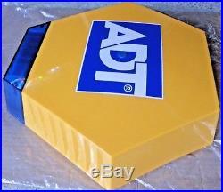 New ADT Solar LED Flashing Alarm Bell Box Decoy Dummy Kit + Bracket And Battery