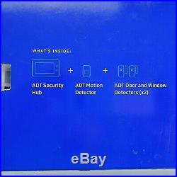 New Samsung SmartThings Wireless Home Security Starter Kit White F-ADT-STR-KT-1