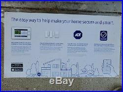 Samsung F-ADT-STR-KT-1 SmartThings ADT Home Security Starter Kit, White OB