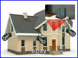 Smartphone Remote Monitor 1080P Wireless Audio Record Wifi Home Security Camera