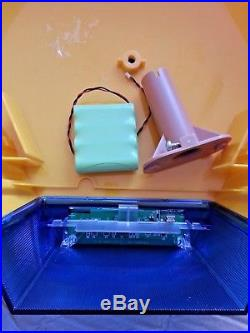 Two x NEW ADT Solar LED Flashing Alarm Box Decoy Dummy Kit. + Bracket And Battery