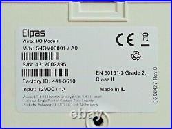 Visonic ioXpander Wired I/O Module 12 Zones 4 Relays Euro & UK ADT ID441-3610