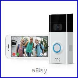 Wireless home security Video Doorbell, Wifi needed, cloud, ADT compatible