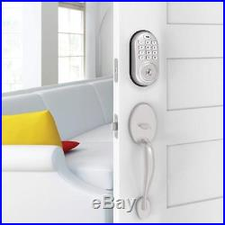 Yale Security YRD416-NR-619 Assure Lock Push Button Deadbolt with Bluetooth in S