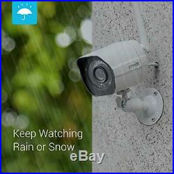 Zmodo Outdoor Security Camera (2 Pack), Smart Home 1080p Full HD Indoor Outdoor